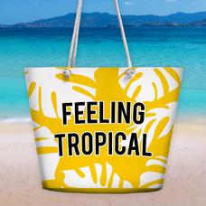 """Пляжная сумка """"Feeling tropical"""""""