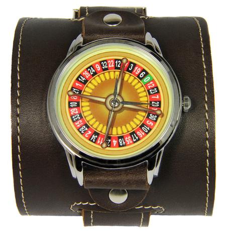 """Эксклюзивные часы """"Рулетка"""""""