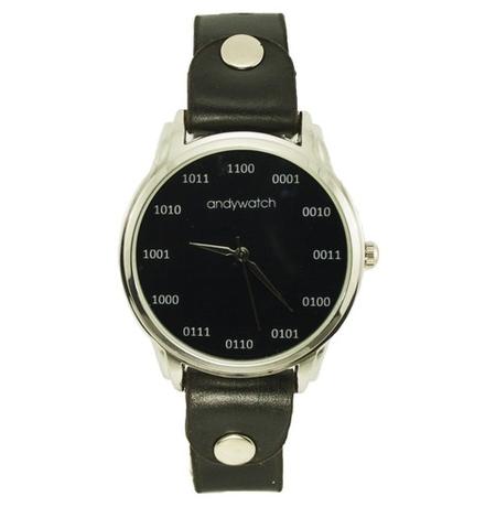 """Наручные часы """"Бинарный код"""""""