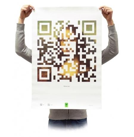 Плакат «Мона Лиза»