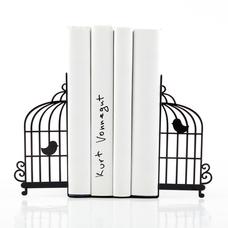 """Упоры/держатели для книг """"Клетка с птицами"""""""