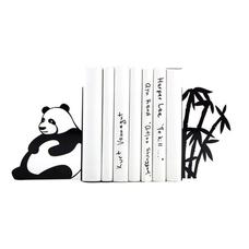 """Упоры/держатели для книг """"Панда на отдыхе"""""""