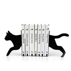 """Упоры/держатели для книг """"Крадущаяся кошка"""""""