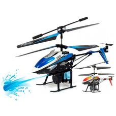 Вертолёт WL Toys Spray с водяной пушкой