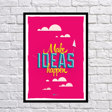 """Постер """"Воплощай идеи"""""""
