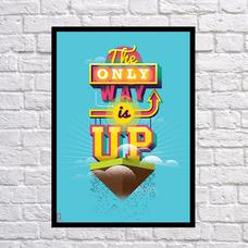 """Постер """"Единственный путь"""""""