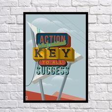 """Постер """"Ключ к успеху"""""""