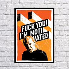 "Постер ""Я мотивирован!"", винил - уценка"