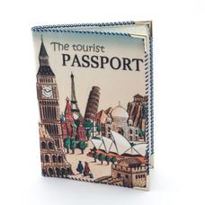 """Обложка на паспорт """"Турист"""""""
