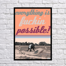 "Постер ""Fucking possible"""