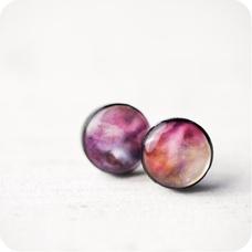 Серьги Nebula Pink