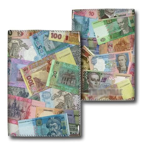 """Обложка на паспорт """"Деньги"""""""