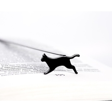 """Закладка для книг """"Бегущая кошка"""""""