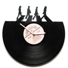 """Виниловые часы """"Abbey the road"""""""