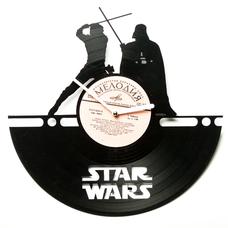 """Виниловые часы """"Star Wars №4"""""""