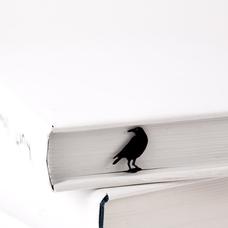 "Закладка для книг ""Ворон"""