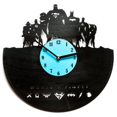"Виниловые часы ""World`s finest"""