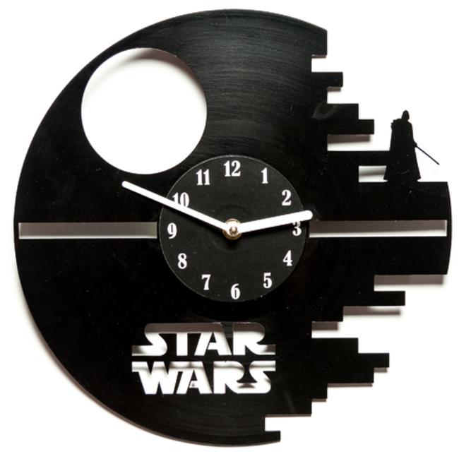 Виниловые часы