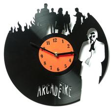 """Виниловые часы """"Arcade Fire"""""""