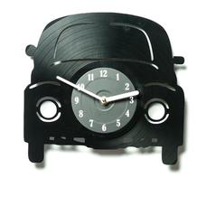 """Виниловые часы """"Машинка"""""""