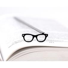 """Закладка для книг """"Очки"""""""