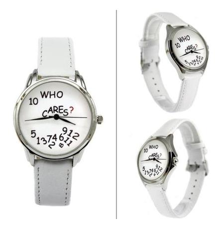 """Наручные часы """"WHO CARES"""""""