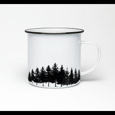 "Эмалированная кружка ""Black forest"""