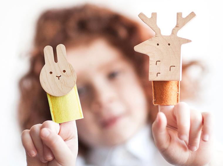 Пальчиковый театр для ребенка