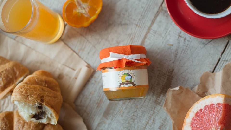 Варенье апельсин-виски