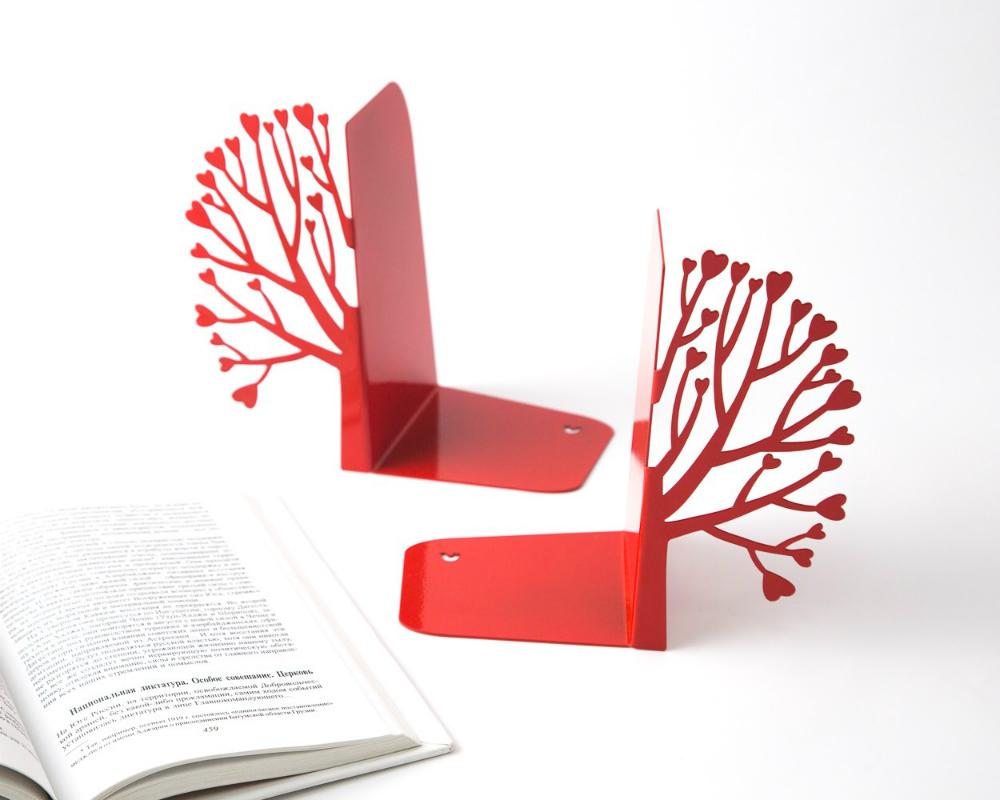 Упоры держатели для книг, подарок жене на день рождения