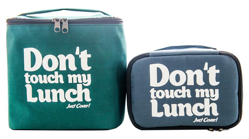 "Термо сумочка для ланча ""Don`t touch"" (зелёная)"