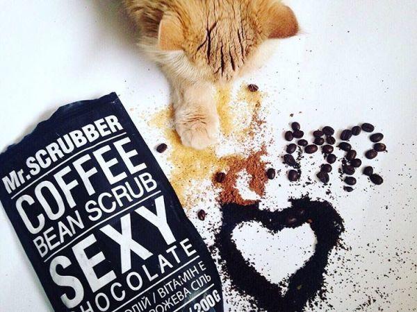 Кофейный скраб для тела и лица Sexy Сhocolate Scrub, шоколад
