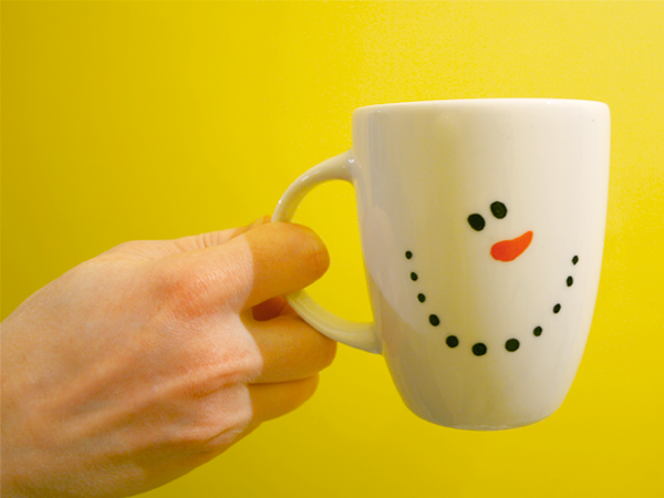 "Чашка ""Снеговичок"""