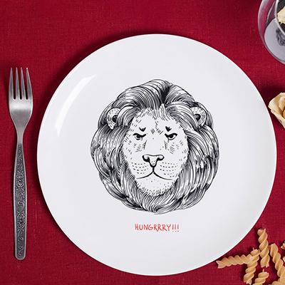 Тарелка со львом