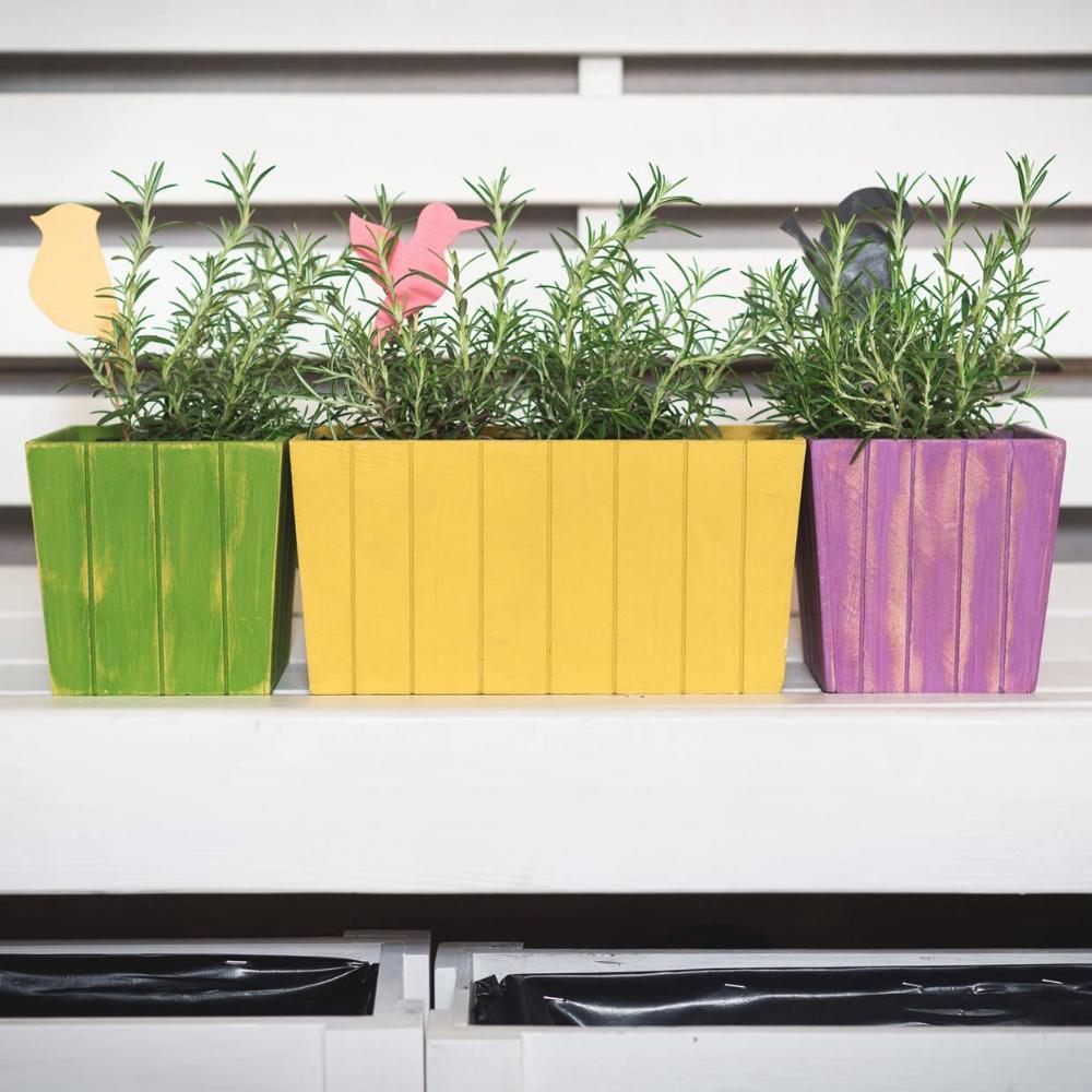 Ящики и кашпо для цветов