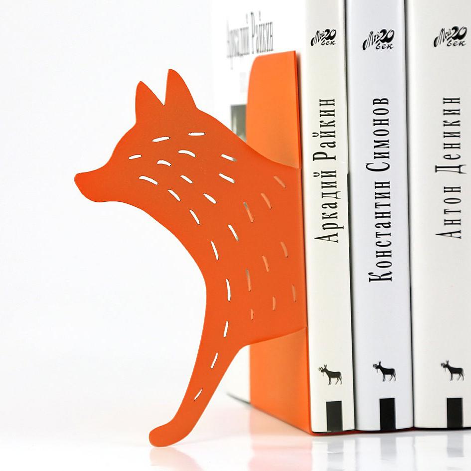 Упоры для книг, держатели для книг в виде лисы, подарок на 8 марта сестре